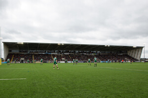Kingston Park - West Stand
