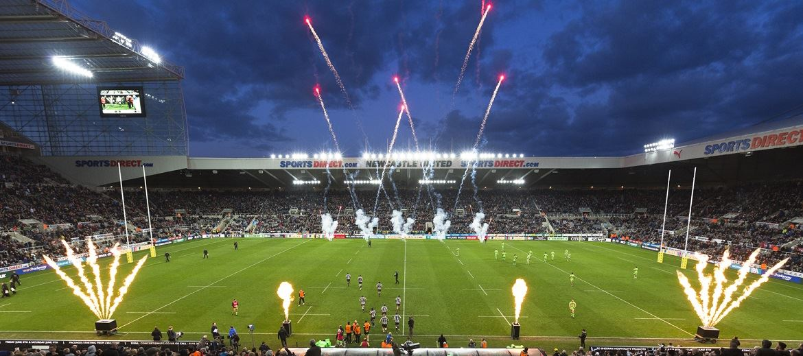 41e4fc9c4d4 The Big One - 10,000 tickets booked - Newcastle Falcons